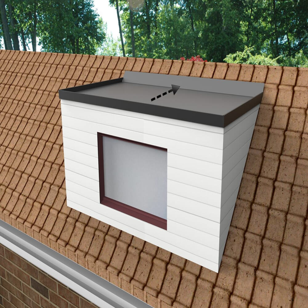 EPDM DORMER ROOF KIT - FALLS TO THE BACK
