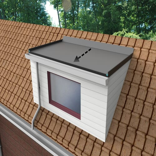 Dormer Falls To The Front Buy Epdm Roof Kits