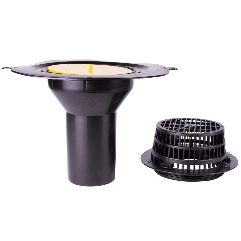 top drain classicbond epdm flat rubber roofing