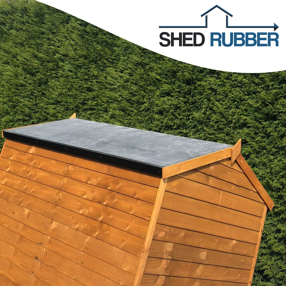 8ft X 8ft Epdm Shed Rubber Roofing Membrane Kit Free