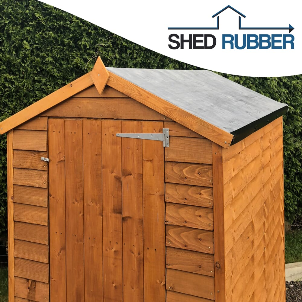 12ft X 12ft Epdm Shed Rubber Roofing Membrane Kit Free